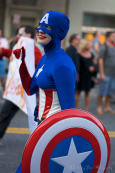 Captain America has some female competition.