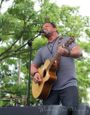 Justin Utley performs on the Capital Pride main stage.